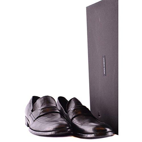 Schuhe pt2532 Dolce & Gabbana Uomo schwarz leder Schwarz