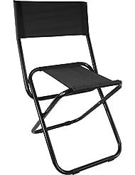 Camping Klappstuhl mit Rückenlehne extra stabile Ausführung