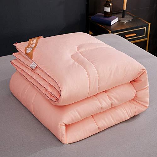 Baumwollsommerkühlklimatisierte Steppdecke, ultra-weich hypoallergen - All Season Atmungsaktive Wärme (Farbe : Orange, größe : 150 × 200)