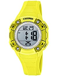 b8e9bc950aad Calypso Reloj Digital para Unisex de Cuarzo con Correa en Plástico K5728 1