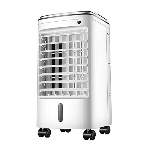 CNNAir Lufterfrischer Luftbefeuchter Und Luftreiniger 3 in 1 mit Fernbedienung 75W 3 Geschwindigkeiten Weitwinkel-Oszillations-Timer Wassertank 6L Klimageräte Ventilator