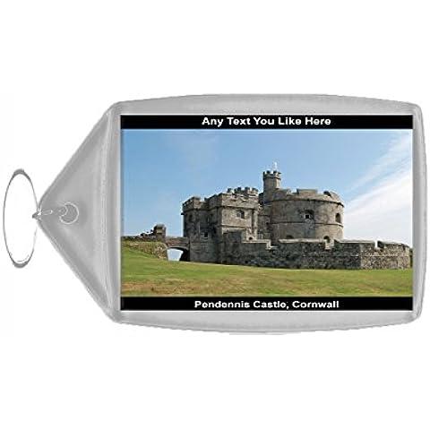 Castello Inghilterra Pendennis Cornovaglia di portachiavi Souvenir (Castello Pendennis)