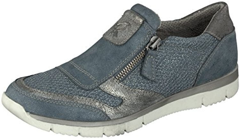 Relife Zapatos Mujer Zapatos Hasta Talla 44 Mocasines 8067-16711-02 Cierre Cremallera in 2 Colores