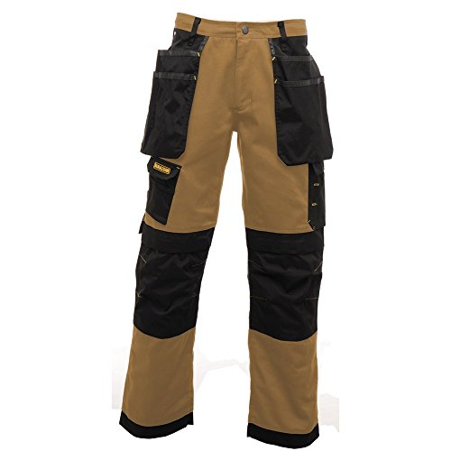 Regatta Herren Hardwear Arbeitshose Iron / Schwarz