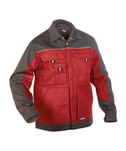 Dassy Lugano rot/grau Arbeitsjacke / Blousonjacke Blouson Rot/Grau
