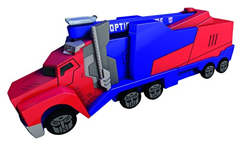 Dickie 203112003 - transformers mission racer optimus prime, 16 cm