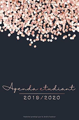 Agenda Etudiant 2019 - 2020: Agenda Semainier et Agenda Scolaire pour l'année Scolaire | De Août 2019 à Août 2020 - Cadeau Enfant et Étudiant par  ÉcolePrint