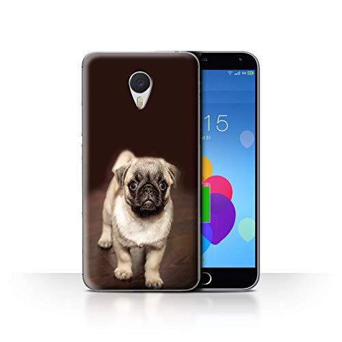 eSwish Hülle/Case für Meizu M3 Note/Netter Mops Hund Hündchen Muster/Süß Baby Tier Fotos Kollektion