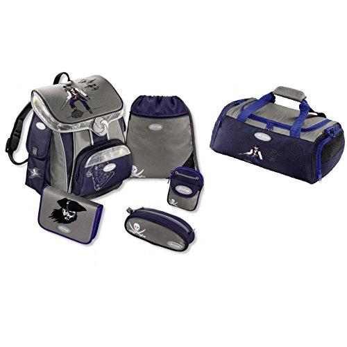 Sammies Premium - Schulranzen Set inkl. Sporttasche - Seven Seas