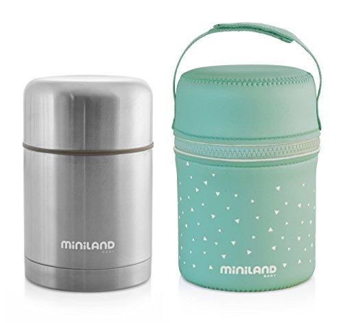 Thermos portapappa con borsa di neoprene 600 ml Miniland