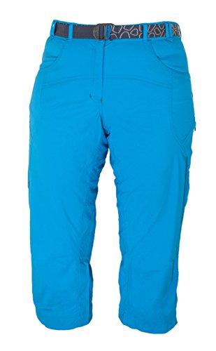 Warmpeace Flex Lady 3/4 Pants Damen Outdoor Hose aus Smile Skin carribic blau NEU Gr. S -