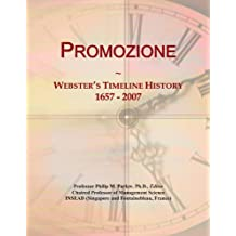 Promozione: Webster's Timeline History, 1657 - 2007