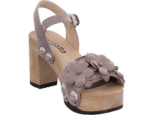Softclox , Sandales pour femme gris gris Gris