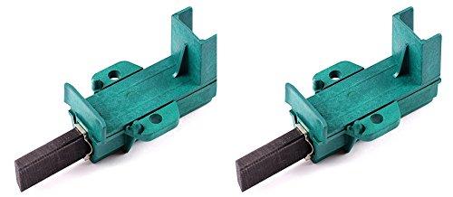 Drehflex® - Motorkohlen / Kohlebürsten / Schleifkohlen / Kohlen für diverse Waschmaschinen aus dem Hause Arcelik / Beko / Blomberg - passend für die Teile-Nr. 371202407 / 371202410