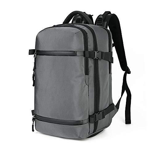 Travel Sport Outdoor Rucksack Mit Laptopfach Freizeitrucksack Schulrucksack Wasserabweisende Laptoptasche Mit USB Ladeanschluss FüR Arbeit Wandern Reisen Camping,FüR Herren,Oxford