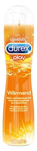 Durex Play Wärmend Gleit- und Erlebnisgel, mit wärmendem Effekt, 1er Pack (1 x 100 ml)