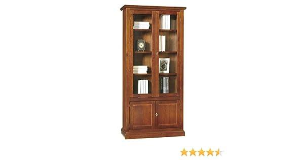 Libreria Vetrina Ufficio : Lo scrigno arredamenti libreria vetrina arte povera 2 porte vetro 2