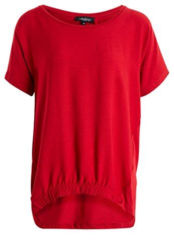 Blusen-Shirt Rot