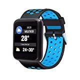 WMWMY Smart Watch Waterproof Professional Sports Mode Smart With Heart Rate Blood Pressure Oxygen Long Expectation Man, 1