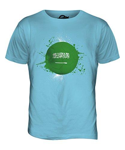 CandyMix Saudi-Arabien Fußball Herren T Shirt Himmelblau