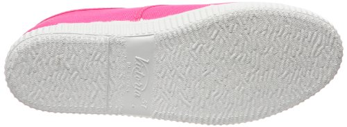 Victoria Inglesa Lona, Baskets Basses mixte adulte Rose (Fuscia)