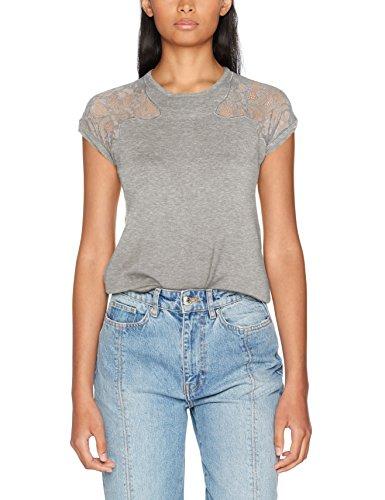 Morgan Damen 172-MCAAN.M T-Shirt, Graumeliert, Medium -