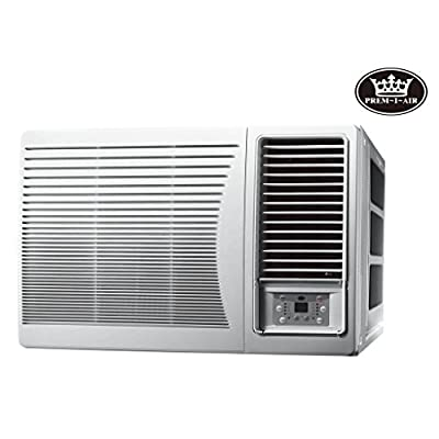 Prem-I-Air 9000 BTU DC Inverter Window Air Conditioner with Remote Control & Timer,