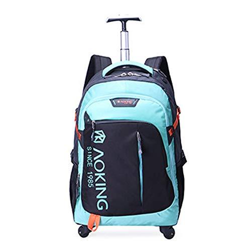 QWERASD Reisetasche Sporttasche für Männer und Frauen Bag Mit Schuhfach Für Gepäck Weekender Travel Gym Trainingstasche Saunatasche,Blue -