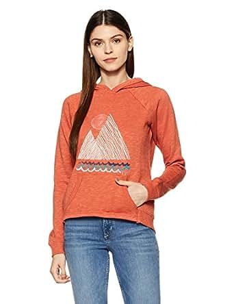 Roxy Women's Sweatshirt (ERJFT03143_Picante_XS)