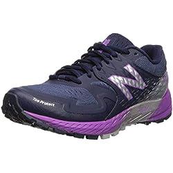 New Balance Summit KOM, Zapatillas de Running para Mujer, Azul (Pigment/Voltage Violet/Silver Metallic PP), 40 EU