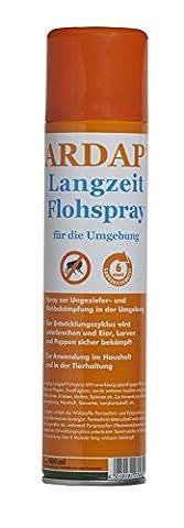Quiko 077485 Ardap Langzeit Flohspray für die Umgebung 400 ml