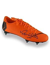 675a8ab990 Exclusive Memorabilia Ronaldo de Lima - Botas de fútbol (firmadas por  Mercurial)