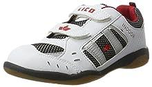 Lico Indoor V, Scarpe da ginnastica Unisex - bambino, Bianco (WEISS/MARINE/ROT), 40