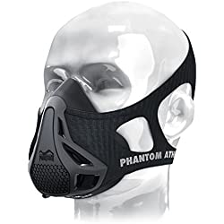 Phantom Athletics Training Mask - Máscara de Entrenamiento para Adultos, Negro, Medium