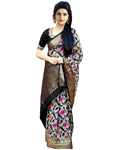 OSLC Bhagalpuri Silk Saree Priented Blouse Women's Clothing Saree Collection in Multi-Coloured...