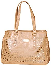 NBM Ladies Handbag Gold | Stylish/Modern/Trendy Handbag | Classic Designs Handbag For Women And Girls | Stylish...