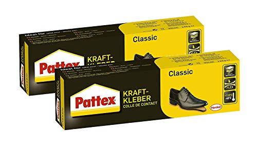 Pattex Kraftkleber Classic, extrem starker Kleber für höchste Festigkeit, Alleskleber für den universellen Einsatz, hochwärmefester Klebstoff, 1 x 125g