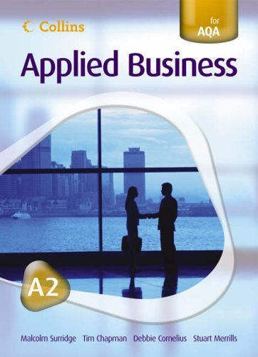 Collins Applied Business - A2 for AQA Student's Book by Tim Chapman (2006-06-20)