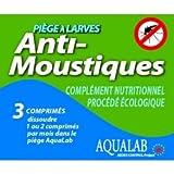 HBM Anti-Moustiques 005-PR-RAC009 Piège à Larves Aqualab Recharge Anti-Moustique 1-2 Mois