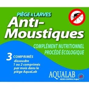 HBM Anti-Moustiques 005-PR-RAC009 Piège à Larves...