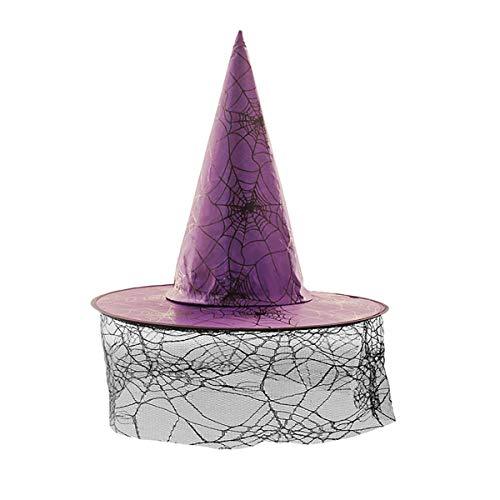 Awesome Kostüm 10 Top - yiyiter HalloweenHexeHut fürHalloweenWeihnachtsfeier HexeZaubererUmhangmitHut fürKinderKinder ErwachseneHexeHut