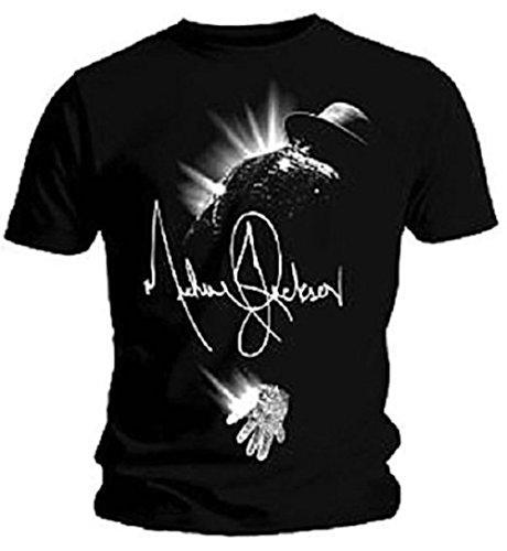 MICHAEL JACKSON - FLARE - Producto oficial de para hombre T-camiseta de manga corta
