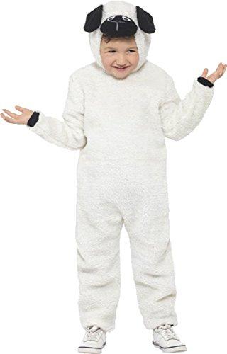 Unisex Kinder Fancy Dress Party Kinder Animal Buch Woche Schaf Kostüm Outfit