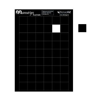 Flexible Magneten für Fotos und Bastelarbeiten: Manutips quadratisch 30–30mm (54Stück)