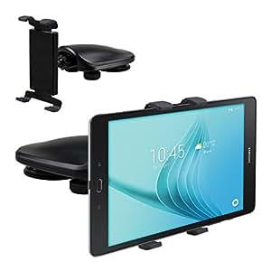 kwmobile Support automobile pour Samsung Galaxy Tab A 9.7 T550N / T555N / P550N - Support voiture pour tableau de bord en noir