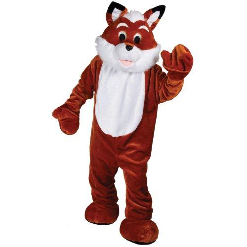 Riesiger Fuchs Halloween Karneval Verkleidung Halloween Maskottchen Tier (Buchstabe Kostüme F)