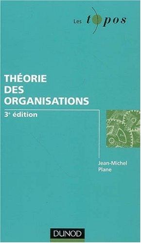 Thorie des organisations