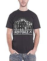Suicide Squad T Shirt Task Force X Joker Harley Quinn new Official Mens Black