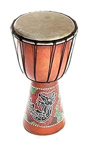 30cm Enfant Djembe Tambour decoration Bongo Tam Tam TamTam Dragon Z1