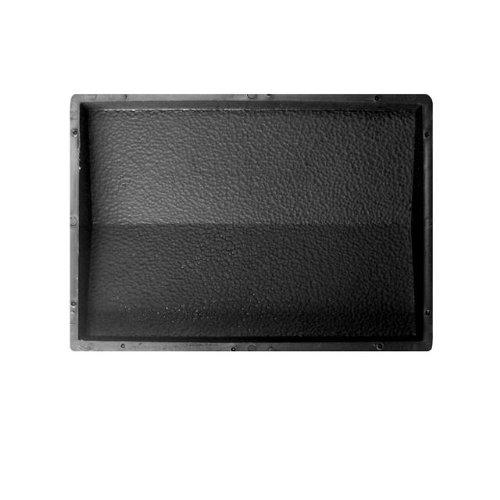 @tec Betonform Schalungsform Gießform Polypropylen (Kunststoff) - Mauerabdeckung/Abdeckplatte RAU - 39 x 35 x 5,5 cm